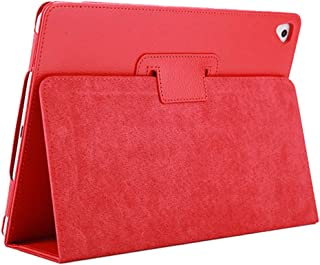 iPad Air 2 Case,2018/2017 9.7 iPad/Cover,FANSONG Bifold Series Litchi Stria Slim Thin Magnetic PU Leather Smart Cover [Flip Stand,Sleep Function] Universal for Apple iPad Air/Air 2/Pro(9.7