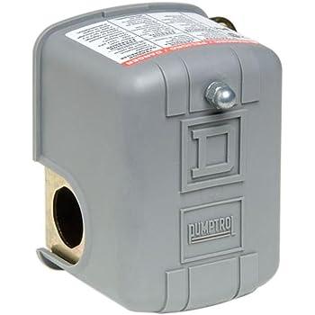 Square D by Schneider Electric FSG2J24CP 40-60 PSI Pumptrol Water Pressure  Switch, Grey Cover - Pressure Washers - Amazon.com   Pumptrol 9013 Wiring Diagram      Amazon.com
