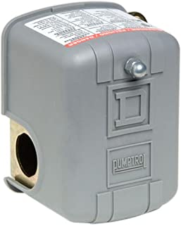 Square D by Schneider Electric Square D by Schneider Electric FSG2J24M4CP 40-60 PSI Pumptrol Water Pressure Switch with Lo...
