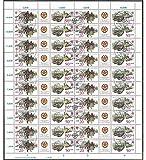 Goldhahn DDR ZD-Bogen Nr. 2924-2927 'Briefkästen 1985' gestempelt Briefmarken für Sammler