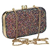 For The Beautiful You Women's Clutch (beaded multi_Multicolored)