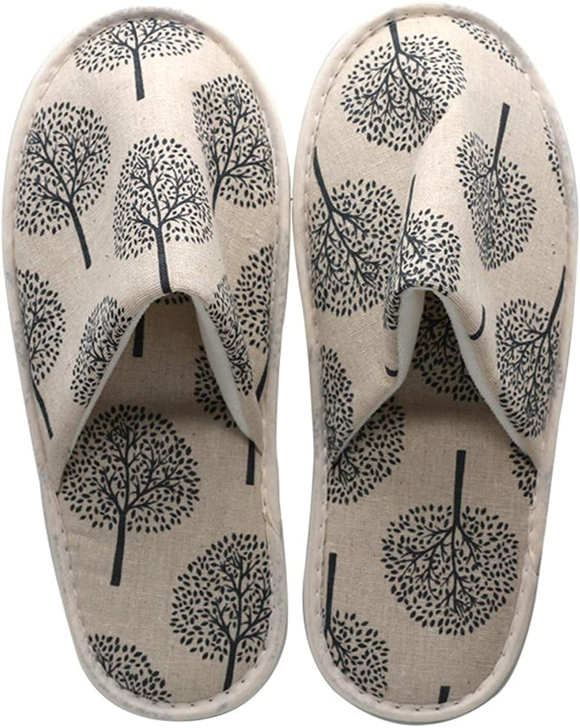 Disposable SPA Slippers Non-Skid Closed Toe Unisex Linen Slippers For Home Hotel Guest Or Commercial Use,B,70Pair