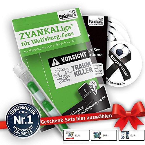 Wolfsburg Home Trikot ist jetzt ZYANKALIGA für VFL Fans by Ligakakao.de Puma Herren Home Shirt Replica mit Logo grün-weiß