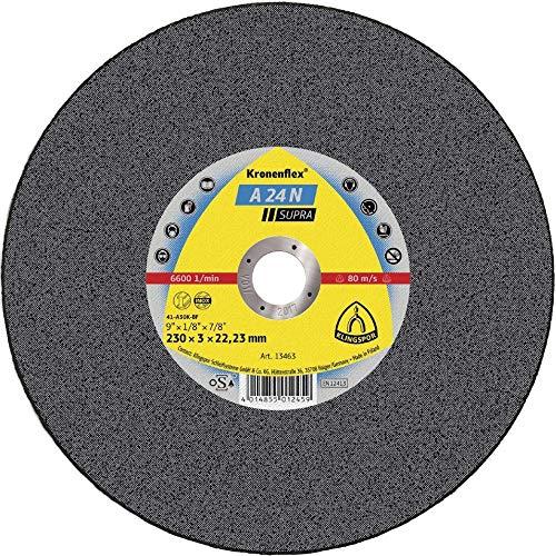 KLINGSPOR KLI-3020-1 3020 A 24 N Disque à tronçonner 115 x 2,5 x 22,23 mm