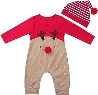 Freebily Baby Body Babystrampler /Ärmellos Kost/üm Neugebohrene Baby Spielanzug Outfit Strampler Kleinkind S/äugling Babykleidung karnevalskot/üm 62-74