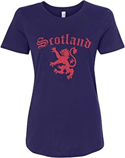 Threadrock Women`s Lion of Scotland T-Shirt