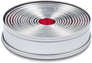 Städter 009073 Lot de 14 emporte-pièce en fer-blanc de 2,5 à 10,5 cm