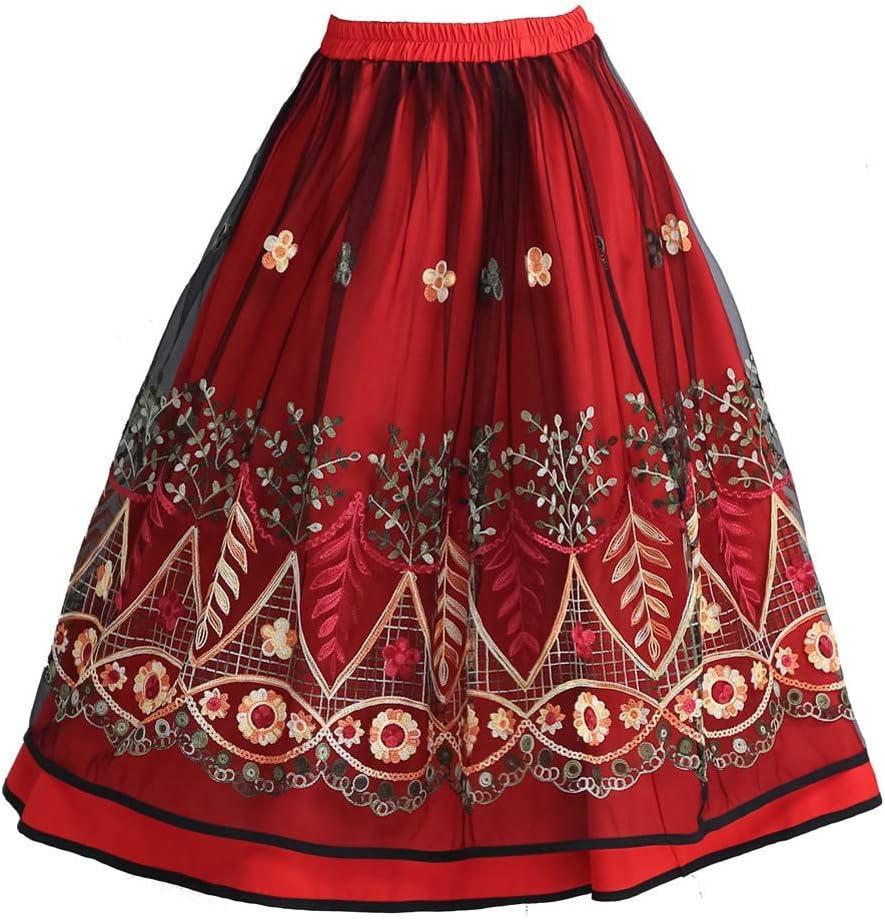 Indian Cotton Skirt A-Line Skirt Long Ethnic Beach wear Maxi Skirt for Women