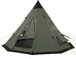 CampFeuer tipitält för 4 personer Spirit | Utomhus tipi-tält vattentätt | Campingtält med myggnät | Pyramidtält för campin...