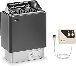 Uniprodo Kit Poêle Pour Sauna 4,5kw Chauffage Électrique À Sauna Et Unité Tableau Boitier Système De Commande G4.5KW-SET-1...