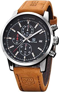 BENYAR Fashion Men's Quartz Chronograph Waterproof...
