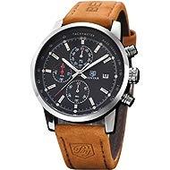 BENYAR Fashion Men's Quartz Chronograph Waterproof Watches Business Casual Sport Design Brown...