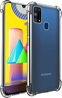 Amazon Brand - Solimo Mobile Cover (Soft & Flexible Shockproof Back Case with Cushioned Edges) for Samsung Galaxy M31 Prim...