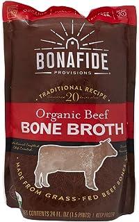 Bonafide Provisions, Beef Bone Broth, 1.5 lb (frozen)