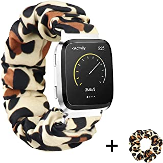 Scrunchie band for Fitbit Versa, Lightweight Elastic Watch strap Compatible with Fitbit Versa/Versa 2/Versa Lite By THOVSMOON