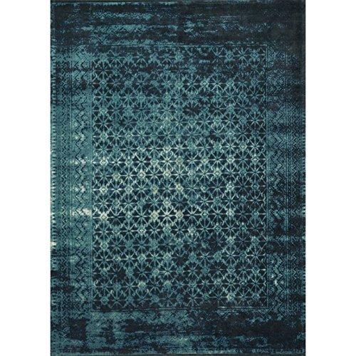 alfombra azul fabricante Loloi