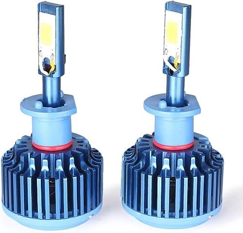 high quality Mallofusa Pair H7 Automotive High Power DRL popular LED Headlight Bulbs Kit W/Clear Beam Bulbs 60W 5000LM 6000K White Light 2021 12/24V outlet sale
