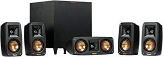 Klipsch Reference Theater Pack Surround Sound System - 1064177, Black