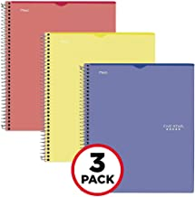 Five Star Interactive Notetaking, 1 Subject, College Ruled Spiral Notebooks, 100 Sheets, 11