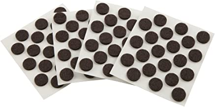 Self-Stick Furniture Round Felt Pads for Hard Surfaces – Protect your Hard Floors from Furniture Scratches, 3/8