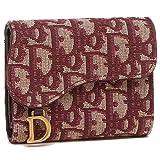 [ディオール]折財布 レディース Dior S5621 CTZQ 974 レッド [並行輸入品]
