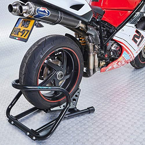 Datona Motorradwippe XXL - Auch für Hinterräder