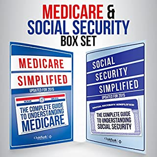 Medicare and Social Security Simplified Set                   By:                                                                                                                                 ClydeBank Finance                               Narrated by:                                                                                                                                 Lucy Vest,                                                                                        Amy Barron Smolinski                      Length: 3 hrs     10 ratings     Overall 4.1
