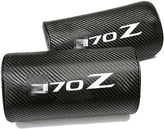 MNBX Almohada para el Cuello del Coche 2Pcs, para Nissan 370Z, Cojín de Apoyo para la Cabeza del reposacabezas de Viaje del reposacabezas, Espuma de Memoria de Alta Densidad, Diseño ergonómico