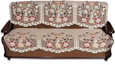Unique Productions 3 Seater Net Fabric Sofa Cover Set (2 Piece)