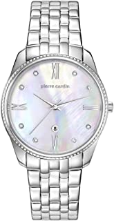 Pierre Cardin Womens Analogue Classic Quartz Watch with Stainless Steel Strap PC107572F08