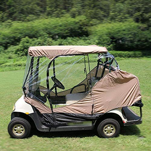 Cubierta de Almacenamiento para Carrito de Golf de 2 pasajeros Cubierta de Almacenamiento Club Car Yamaha Impermeable Impermeable Protección contra el Polvo a Prueba de Sol Fantastic