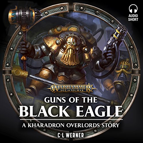 Guns of the Black Eagle audiobook cover art