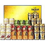 【お歳暮】 ザ・プレミアム・モルツ 冬の限定ファミリー ビール ギフト セット FA50P  350ml×14本, 290ml×11本  ギフトBox入り