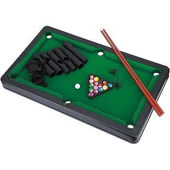 Zouminy Mini Billar Bola Snooker Billar Juego de Mesa Accesorios ...