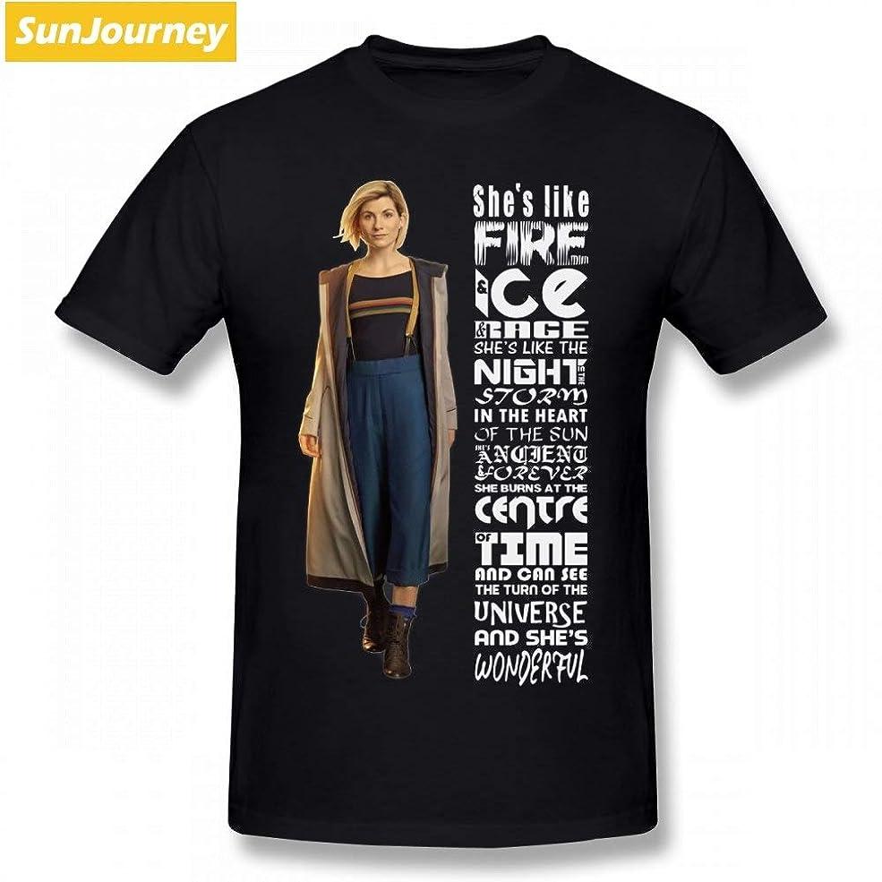 アスペクトピルペンダント彼女のような火災ドクター · フーの新 Tシャツロック Tシャツの男性の綿 XXXL 半袖 Tシャツ