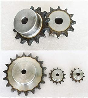 """#35 Chain Drive Sprocket 10T Pitch 9.525mm For 3/8"""" #35 06B Roller Chain (10T)"""