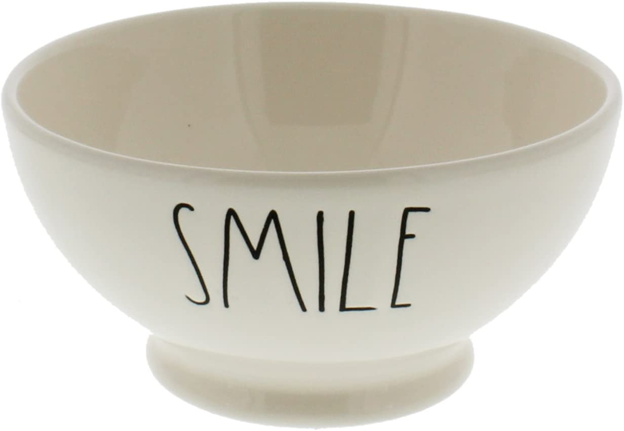 Rae Dunn by Magenta SMILE Bowl Industry No. 1 latest Ice Cream Cereal