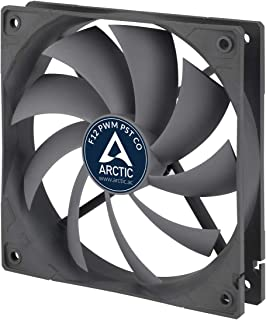 ARCTIC F12 PWM PST CO - 120 mm Case Fan with PWM Sharing Technology (PST), Dual Ball Bearing for Continuous Operation, Com...