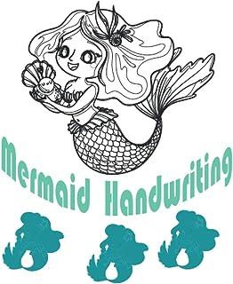 MERMAID HANDWRTING: Blank Handwriting Practice Notebook of Lined Paper