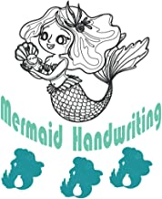 MERMAID HANDWRTING: Blank Handwriting Practice Notebook of Lined Paper