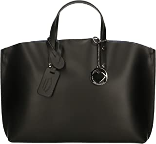 Chicca Borse Bag Borsa a Mano in Pelle Made in Italy 47x30x14 cm