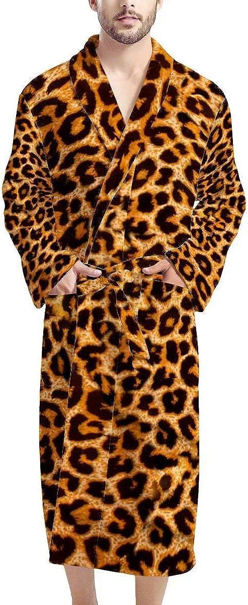 AFPANQZ Men Bathrobe with Pockets Choice Sle Sleepwear Purchase Length Full Long
