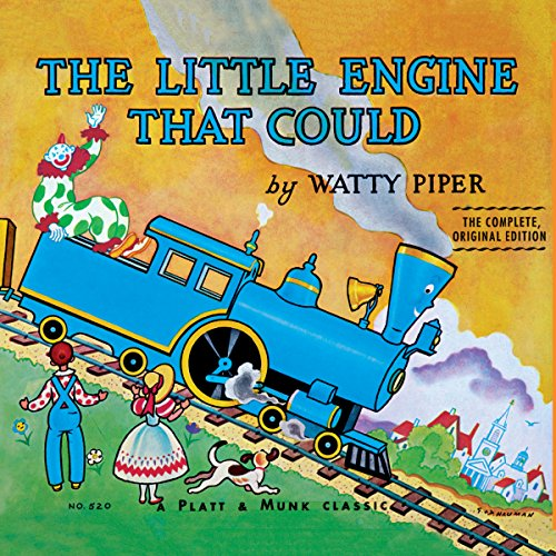 The Little Engine That Could audiobook cover art