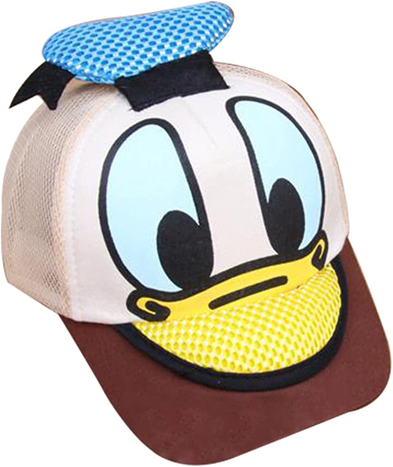 OMG Aquatics Toddler Baseball Hat Kids Protective Cartoon Baseball Caps Hip Hop Cool Hats for Boys and Girls 2-8 Years (Coffee) : Everything Else