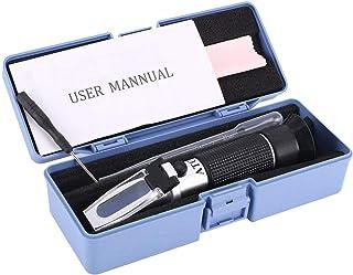 Monllack Réfractomètre, réfractomètre 0~32% Optique Sucre Aliments Boissons Boisson Jus Contenu ATC Compteur Outil Test Te...
