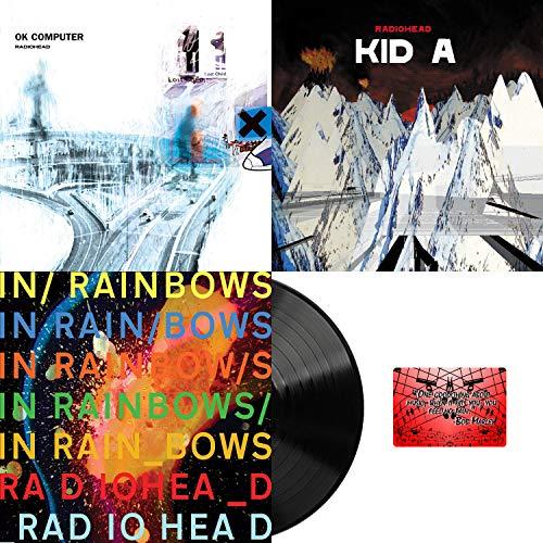 Radiohead: Vinyl Studio Album Collection ( Ok Computer / Kid A / In Rainbows ) with Bonus Art Card