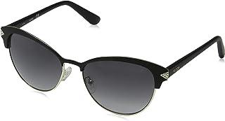 6f84c13c0c Guess Sunglasses Gu7515-S 05C 55 Montures de lunettes, Argenté (Silber),
