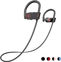 Otium Bluetooth Headphones, Best Wireless Sports Earphones w/Mic IPX7 Waterproof HD Stereo Sweatproof in-Ear Earbuds Gym Running Workout 8 Hour Battery Noise Cancelling Headsets