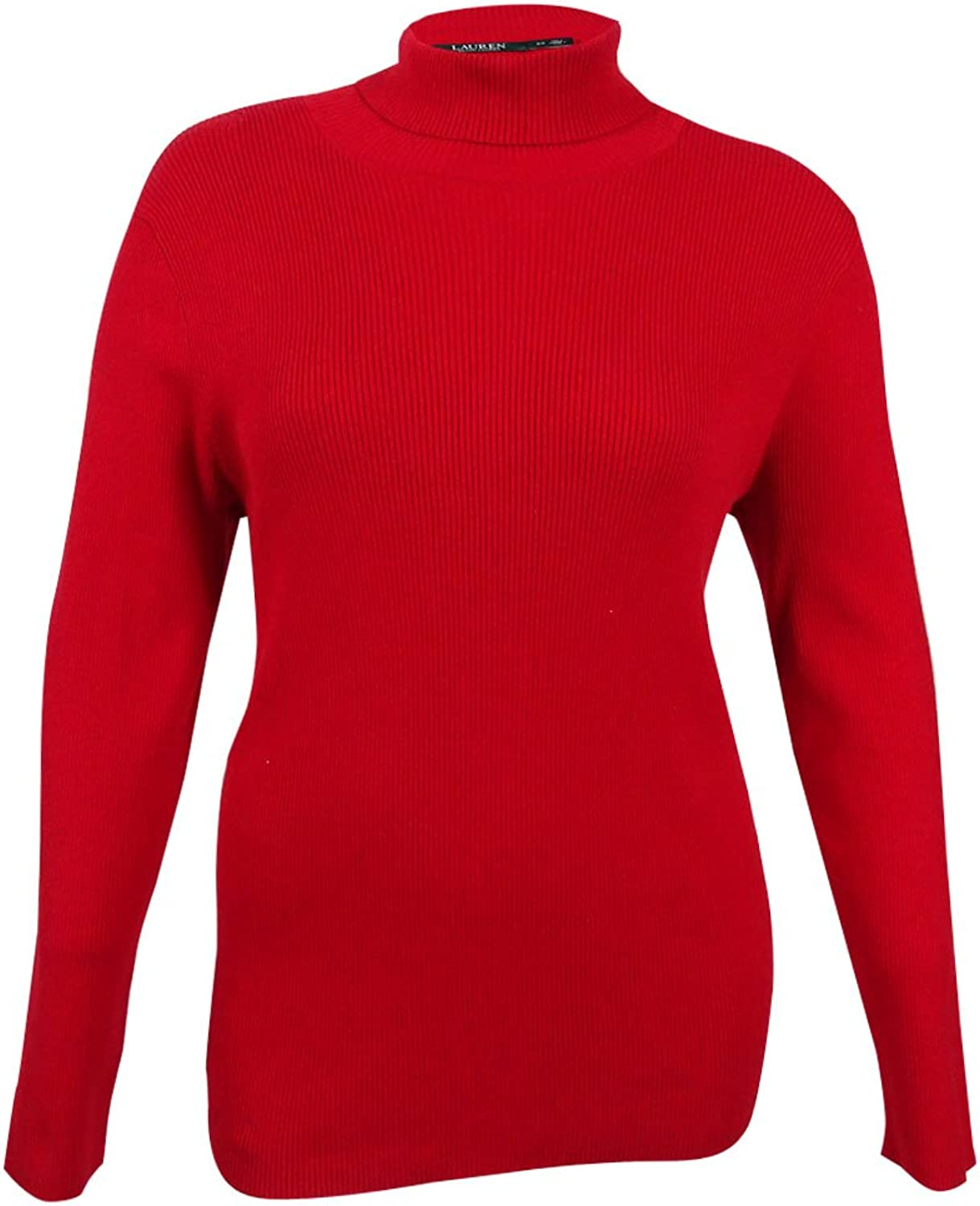 Ralph Lauren Womens Red Long Sleeve Turtle Neck Sweater US Size  XL