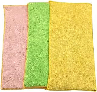 Fan-Ling Mixed Color Microfiber Car Cleaning Towel,Kitchen Washing Polishing Cloth,Washing Cloth,Cleaning Cloths, for Cleaning Bowl Pot Kitchen or Clean Glass&car,Soft, Comfortable